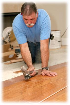 Odborná pokládka podlahy